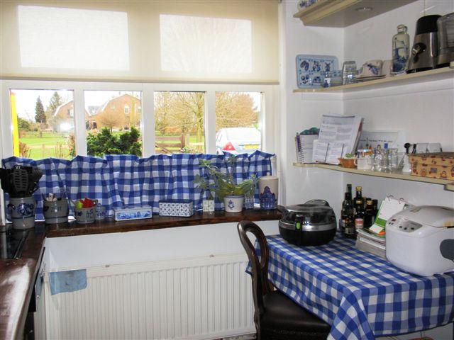 Landelijke keuken gordijnen